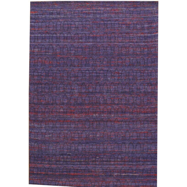 Image of Pasargad Modern Collection Sari Silk Rug - 6' X 8'