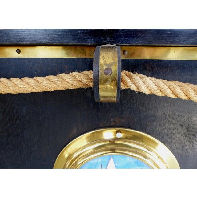 1950's Nautical Theme Dry Bar & Stools- Set of 3 - Image 5 of 10
