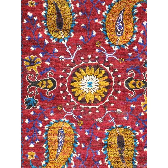 Image of Pasargad Santa Fe Sari Silk Rug - 5′5″ × 8′