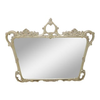Silver Gilt Carved Mirror