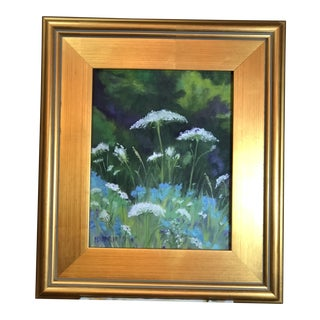 Cornflowers and Queens Oil Painting