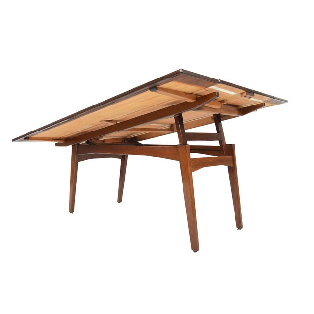 Image of Danish Modern Rosewood Elevation Coffee Table