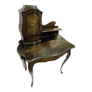 Italian Painted Writing Desk