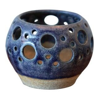 Handmade Ceramic Stoneware Candle Holder