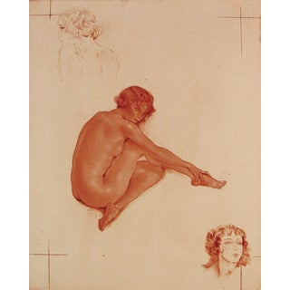 French Nude by Édouard Chimot