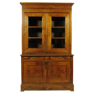 19th-C. Antique Charles X Hutch