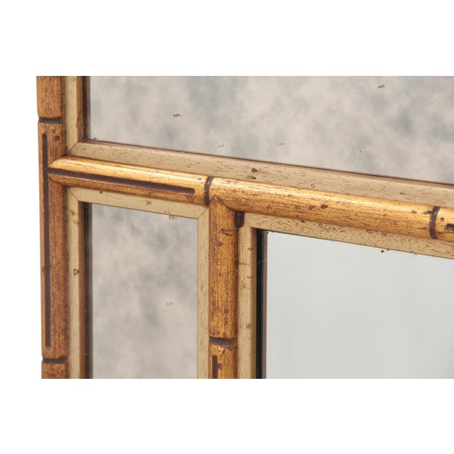 Faux Bamboo Chinoiserie Mirror - Image 2 of 7