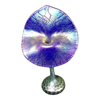 Jack in the Pulpit Stained Glass Vase