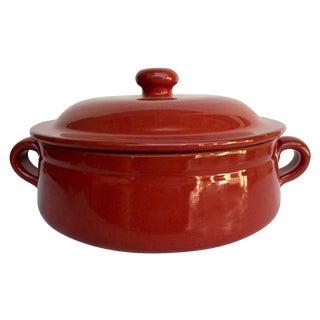 De Silva Red Terracotta Casserole Baker