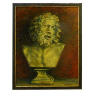 Neoclassical Bust French Painting by Durand Louis