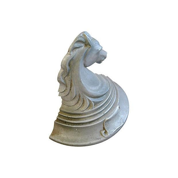 Image of 1950's Mid-Century Trojan Horse Bookends - A Pair