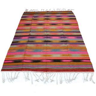 "Vintage Anatolian Kilim Rug - 5'9"" x 8'9"""