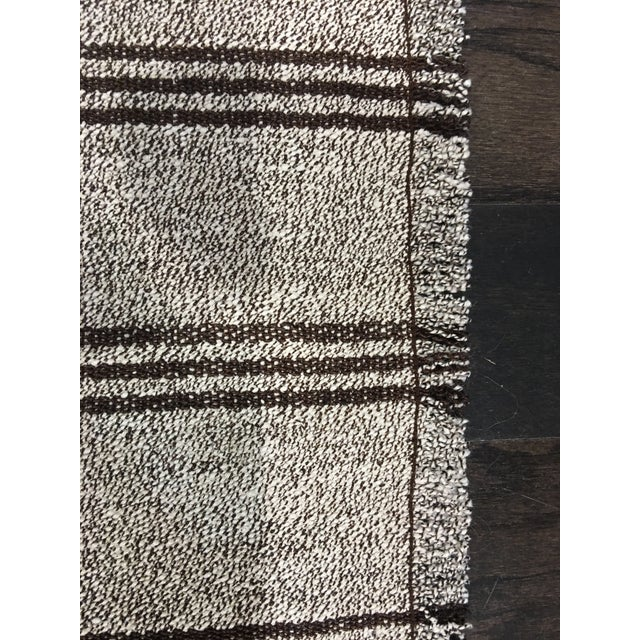 "Image of Turkish Hemp Kilim Rug - 2'6""x7'10"""