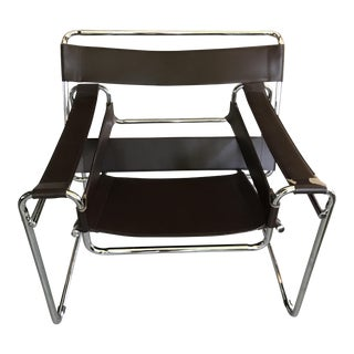 Wassily Style Chrome Chair