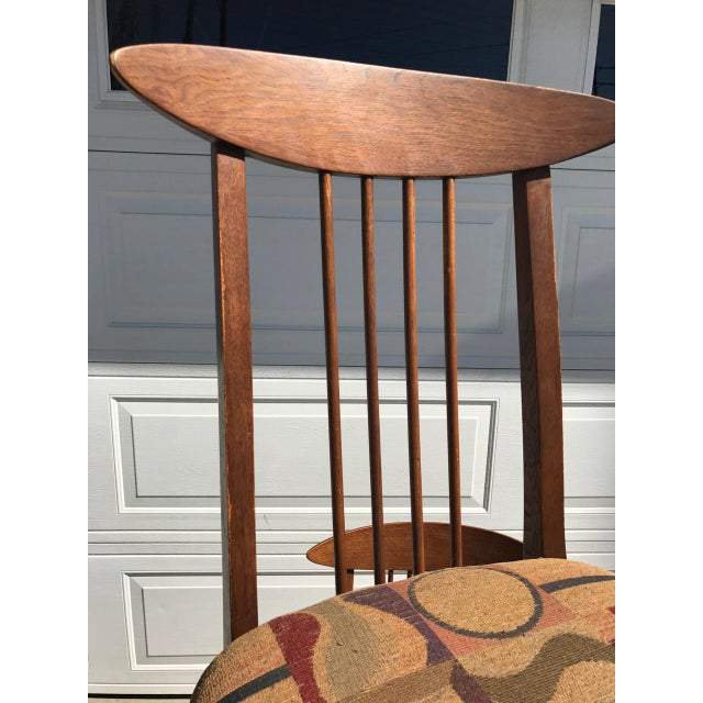 Lenoir Broyhill Mid-Century Modern Dining Set - Table & 4 Chairs - Image 8 of 10
