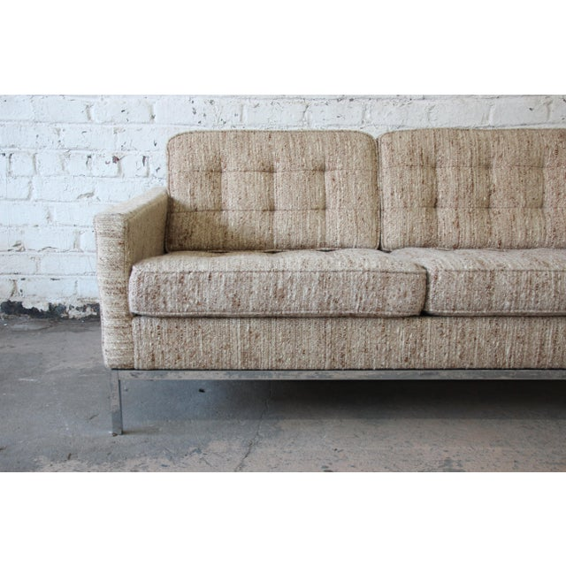 Florence Knoll Loveseat Sofa for Knoll International, 1977 - Image 5 of 11