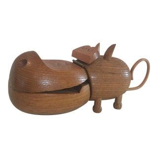 Zoo Line Hippo Figurine