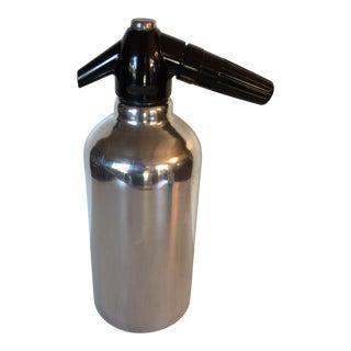 "Kidde Mfg Mid-Century Modern Rechargeable ""Soda King"" Seltzer Bottle"