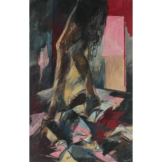 Anna Poole Abstracted Female Figure Painting
