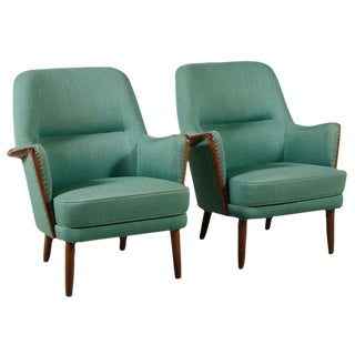 Danish Modern Architect Designed Chairs - A Pair