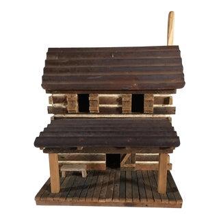 Handcrafted Log Bird House