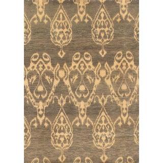 Pasargad Ikat Wool Rug - 4′ × 5′8″