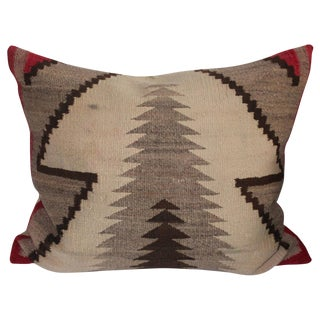 Monumental Navajo Indian Weaving Pillow