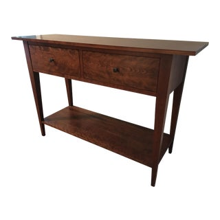 Solid Cherry Wood Sideboard