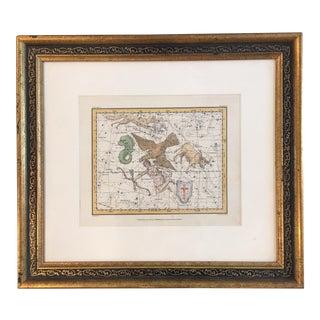 Original A. Jamieson 1820 Celestial Map, Plate 10