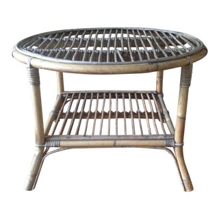Vintage Bamboo Side / Coffee Table