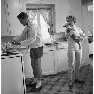 Paul Newman & Joanne Woodward Photograph