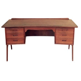 Svend Madsen Teak Executive Desk