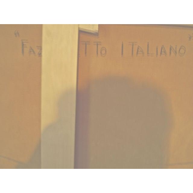 Oronzo Gasparo Fazzoletto Italiano Painting - Image 7 of 7