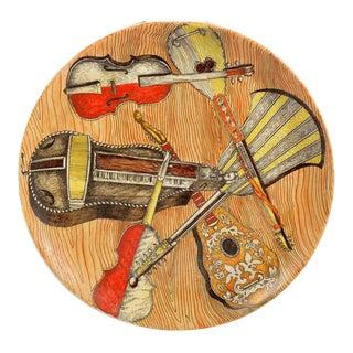 Piero Fornasetti Strumenti Musicali Plates