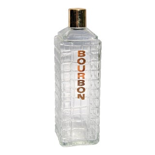 Vintage Karoff Mid-Century Bourbon Decanter