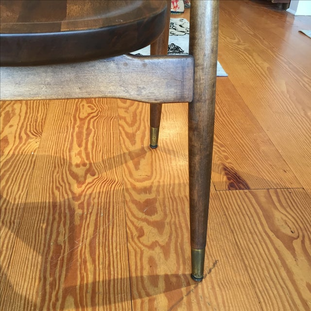 Mid-Century Captain's Chairs - A Pair - Image 7 of 10