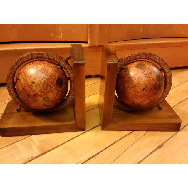 Olde World Globe Bookends - A Pair - Image 4 of 9