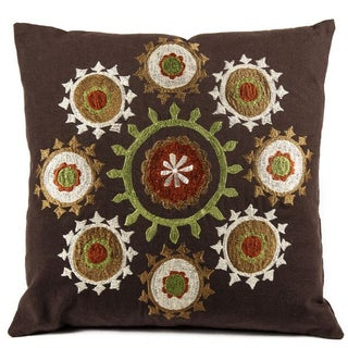 Suzani Brown Pillow