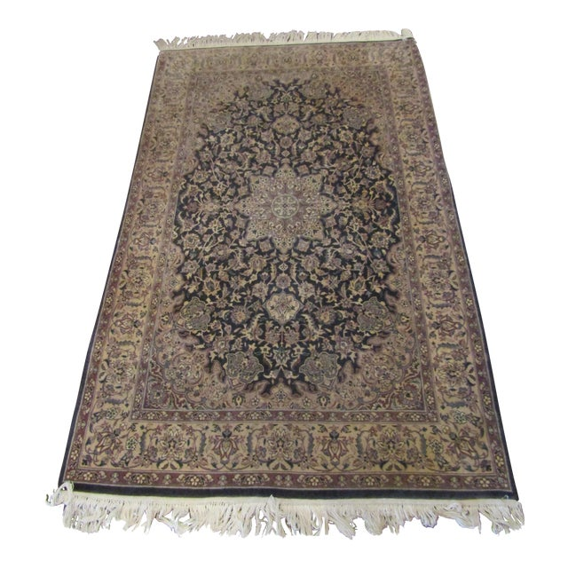 Oriental Blue Mauve & Brown Rug - Image 1 of 5