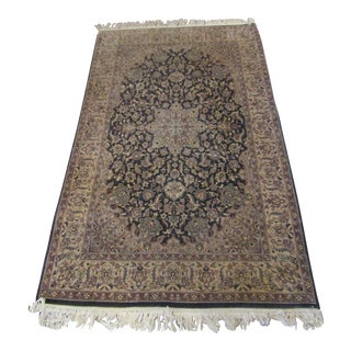 Oriental Blue Mauve & Brown Rug