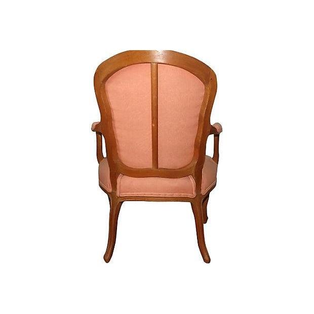 louis xv period fauteuil chair chairish. Black Bedroom Furniture Sets. Home Design Ideas