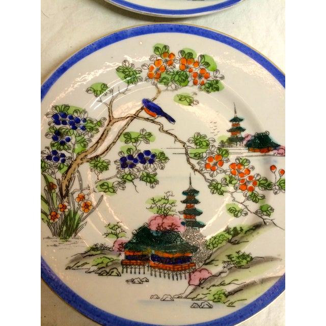 Image of Japanese Pagoda Salad Plates - Set of 4
