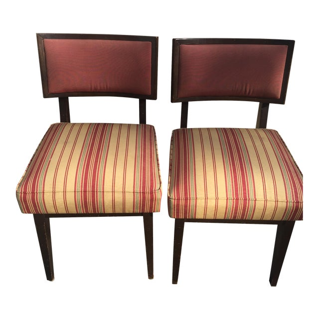 Mid-Century Modern Side Chairs - A Pair - Image 1 of 5
