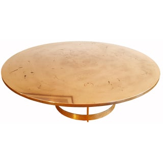 Italian Brass & Bronze Coffee Table
