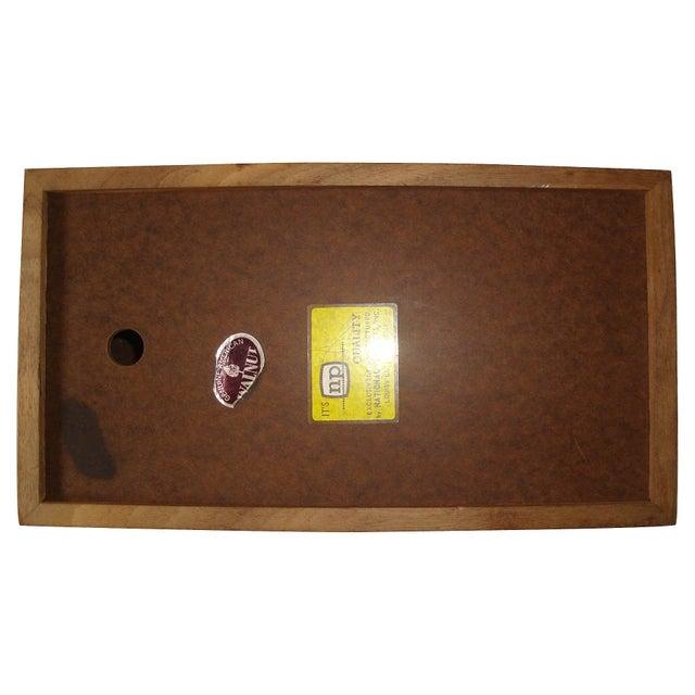 Mid-Century Gruvwood Tissue Box Cover - Image 2 of 4