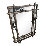 Image of Adirondack Iron Pinecone Mirror