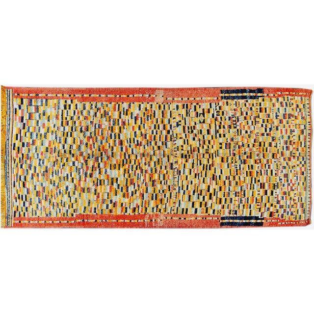 Image of Apadana Multicolored Moroccan Rug - 5' x 11'