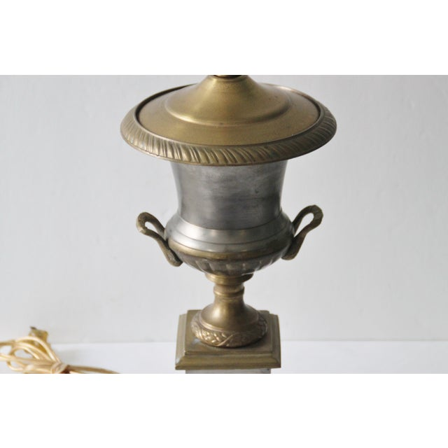 Neoclassical Trophy Urn Lamp - Image 3 of 6