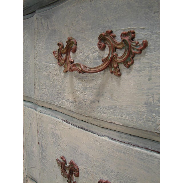 Image of Old World French Provincial Two-Drawer Nightstand