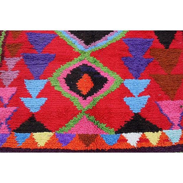 Vintage Moroccan Rug - 7'6'' x 3'8'' - Image 2 of 2